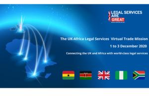 Legal Services are GREAT mission logo