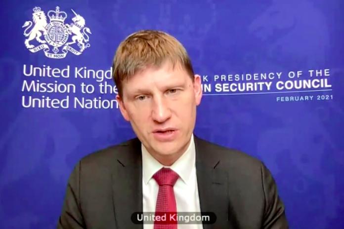 Ambassador Jonathan Allen at UNSC