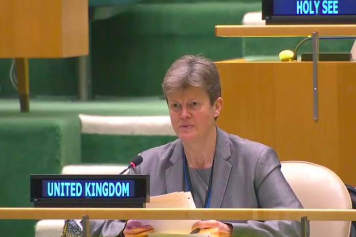 Ambassador Barbara Woodward at C34 Special Committee on Peacekeeping Operations