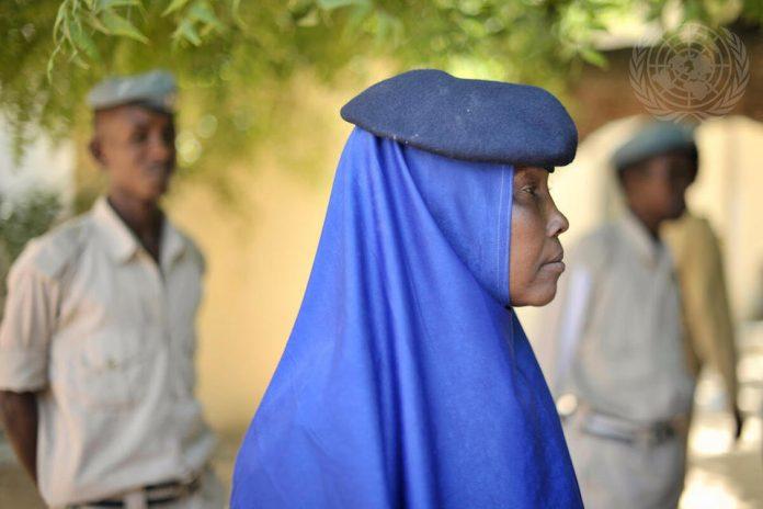 UN Peacekeeper in Somalia (UN Photo)