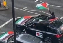 Four held over video 'showing anti-semitic abuse being shouted from car' (Report)