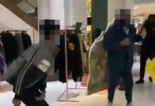 Man stabbed and eight arrests in mass knife brawl inside Selfridges (Report)