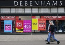 'Pandemic was the final nail': Last Debenhams stores close their doors