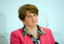 Arlene Foster gives farewell speech as she stands down as First Minister (report)