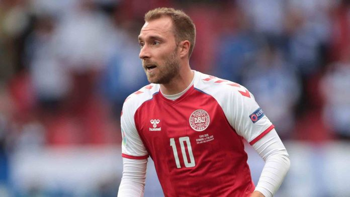 Christian Eriksen in 'good mood' as he recovers after cardiac arrest (reports)