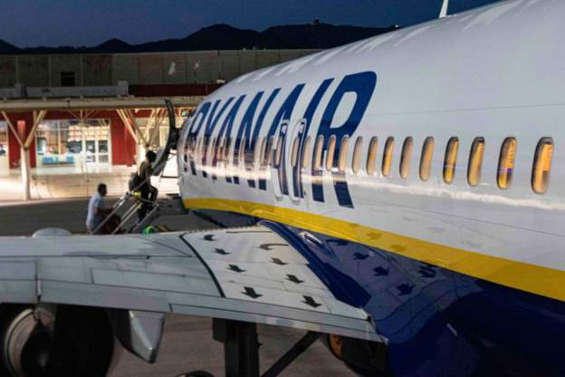 Ryanair files legal papers in challenge over travel rules