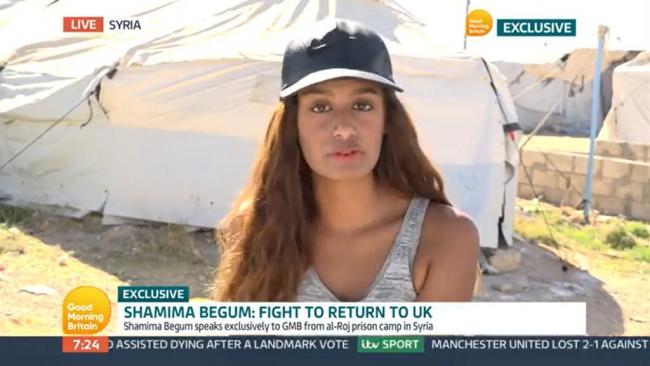 Former IS teenage bride Shamima Begum apologises to UK public