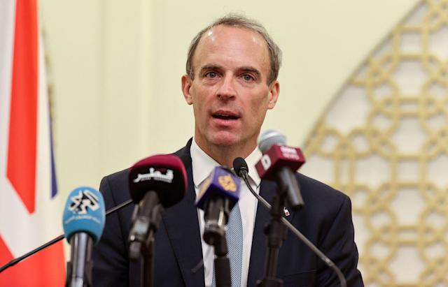 LIVE: UK must engage with Taliban, Raab insists during Doha rescue talks