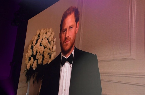 Prince Harry makes vaccine plea during event appearance